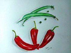 Vegetables by cathib9 on Etsy, $25.00