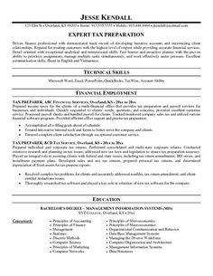 tax preparer resume examples resume examples accounting jobs senior accountant - Tax Accountant Resume Sample