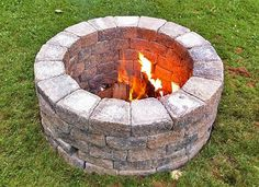 Build Your Own Outdoor Fire Pit | PlanItDIY