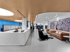 WebMD Corporate Headquarters LED Ceiling Lights In New York City