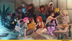 Overwatch,Blizzard,Blizzard Entertainment,фэндомы,Simz,D.Va,Tracer,Widowmaker,Sombra (Overwatch),Zarya,Symmetra,Pharah,Mercy (Overwatch),Mei (Overwatch),Ana Amari