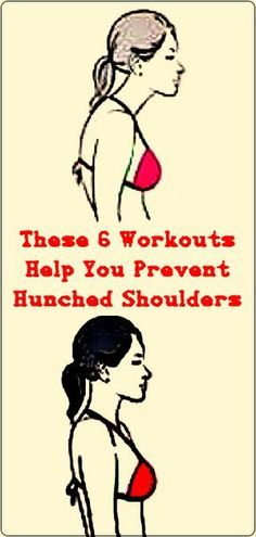 These 6 Workouts Help You Prevent Hunched Shoulders #health #fitness #workouts #gym #back