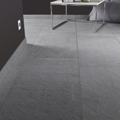 carrelage sol et mur gris effet pierre story l45 x l90 cm - Carrelage Gris Mur
