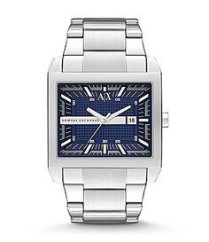 AX Armani Exchange Mens Smart Blue Dial Watch #Dillards