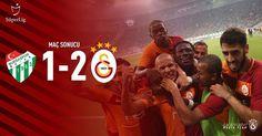 """56.6b Beğenme, 1,187 Yorum - Instagram'da Galatasaray (@galatasaray): """"Maç Sonucu: Bursaspor 1-2 #Galatasaray #BRSvGS #Hedef21"""""""