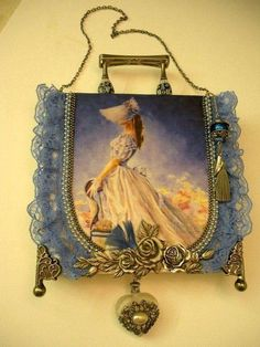 beautiful Victorian bag