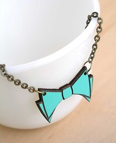 bowtie necklace