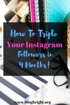 Learn how to triple your Instagram followers through this one easy step. Schedule your Posts with this easy tool and watch your account grow! Instagram is an important platform for bloggers if they want to work with brands. You need to be seen and there's an easy way to boost your visibility.