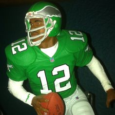 Randall Cunningham immortalized in  a McFarlane action figure.