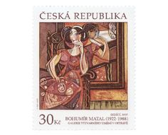 COLLECTORZPEDIA Works of Art on Postage Stamps: Bohumir Matal Czech Republic, Postage Stamps, Cover, Books, Art, Stamps, Livros, Art Background, Libros
