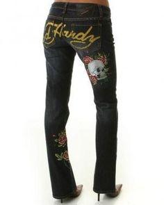 Ed Hardy Jeans..