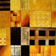 Cuadros Abstractos Modernos Con Figuras