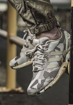 detailed look 048d6 c4bd2 adidas Originals ZX Flux  Camo  Sneakers Adidas Sneaker Nmd, Adidas Sneakers,  Shoes