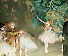 Resultado de imagen para edgar degas ballet