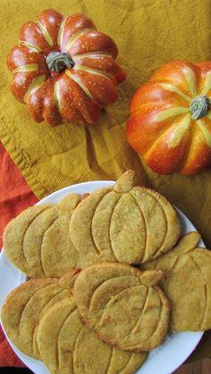 Paleo Pumpkin Spice Sugar Cookies #VeggieStaples