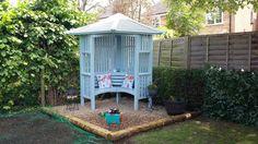 My lovely garden retreat.