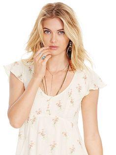 Floral-Print Gauze Dress - Denim & Supply  Short - RalphLauren.com