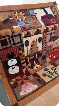 Country Quilt-- I love a Country Quilt.