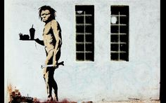 Banksy is perhaps the most famous anonymous street artist known (or unknown) today. His satirical street art and subversive epigrams combine dark humour with graffiti. Banksy Graffiti, Street Art Banksy, Banksy Canvas, Bansky, Anti Graffiti, Banksy Prints, Canvas Wall Art, Wall Art Prints, Canvas Prints