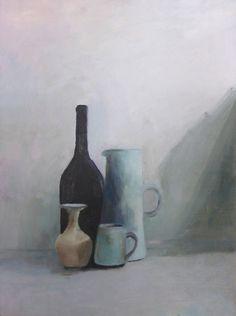 Rowan - Still Life - Oil on board - A2 Fine Art Coursework, Truro College 2016,