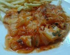 Merluza Huertana receta casera