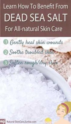 Healthy skin care benefits of .silver lining is that it inspired me to learn more about Dead Sea Salt benefits for skin care.I felt like I experienced a miracle. Sea Salt Benefits, Oregano Oil Benefits, All Natural Skin Care, Organic Skin Care, Natural Health, Natural Life, Totes Meer, Combination Skin Care, Skin Care Routine For 20s
