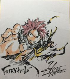 A drawing by Hiro Mashima