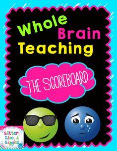 Whole Brain Teaching {The Scoreboard} FREE POSTER