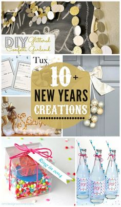 10+ New Years Creati