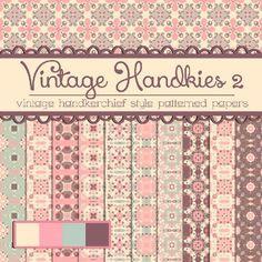 20 Free #Vintage / #Retro #Photoshop #Patterns