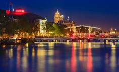 Magere Brug - Theater Carré - aan de River Amstel- Amsterdam   Flickr - Photo Sharing!