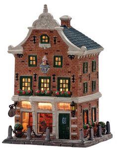 Christmas Village Display, Christmas Villages, Seaside Village, Winter Cards, Holland, Fairy Tales, Lego, Miniature, Xmas