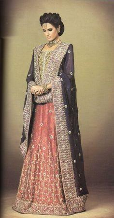 Latest Walima Bridal Dresses 2012 in Pakistan & India m