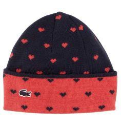 Lacoste Women's RB6728 Novelty Wool Blend Beanie Hat Blue Medium | eBay