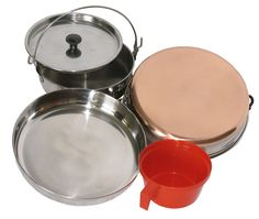 Stainless Steel Camping Mess Kits