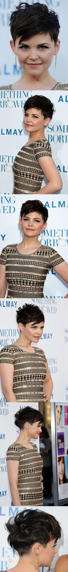 All views of Ginnifer Goodwin haircut                                                                                                                                                     More