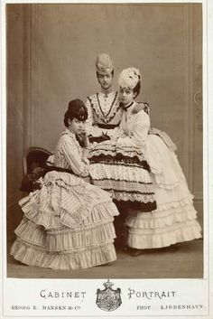Dagmar, Alexandra, and Thyra, daughters of Christian IX of Denmark
