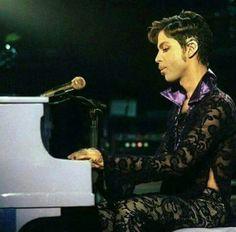 His piano