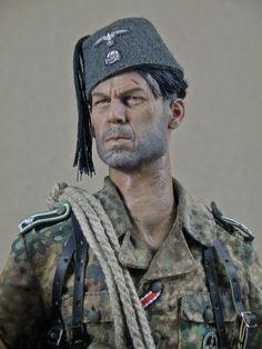 World at War (WWI, WWII, & Civil Wars) Handschar NCO - OSW: One Sixth Warrior Forum