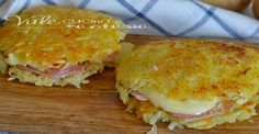 Ricette con le patate Archives - Vale cucina e fantasia Slovak Recipes, Czech Recipes, Breakfast Recipes, Snack Recipes, Cooking Recipes, Snacks, Vegetarian Pie, Savoury Dishes, What To Cook