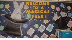 welcome to kindergarten door ideas   Welcome To A Magical Year!