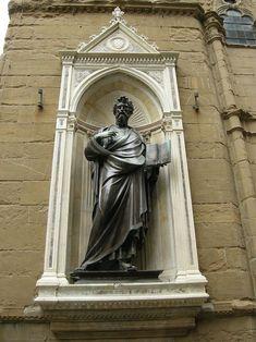 Orsanmichele, san matteo di Ghiberti - Church of Orsanmichele - Florence