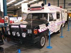 St John Ambulance. Ford F100. Perth, Australia