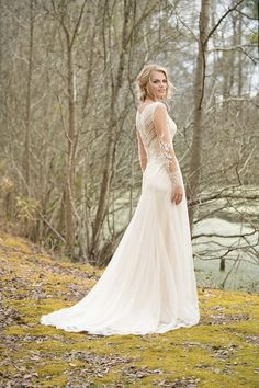 The Blushing Bride Boutique is one of the largest Retailers in Texas for Lillian West Wedding Gowns! You'll find in our Lillian West Collection an assortment of Ultra Boho Styles, Romantic … Lace Wedding Dress, Long Sleeve Wedding, Wedding Dresses, Lillian West Wedding Gowns, Cinderella, A Line Gown, Mademoiselle, Vintage Stil, Beautiful Gowns