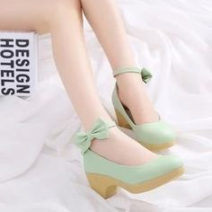 Buy 'Gizmal Boots – Bow Accent Pumps' with Free International Shipping at YesStyle.com. Browse and shop for thousands of Asian fashion items from China and more!