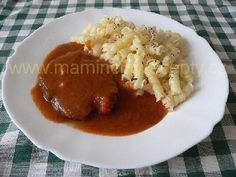 Dušené hovězí po florentinsku Thai Red Curry, Stew, Food And Drink, Rice, Ethnic Recipes