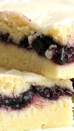 Blueberry Pie Bars Recipe ~ Delicious & easy