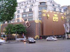 Louis Vuitton store Paris, France