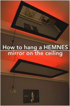 Above The Bed HEMNES Mirror