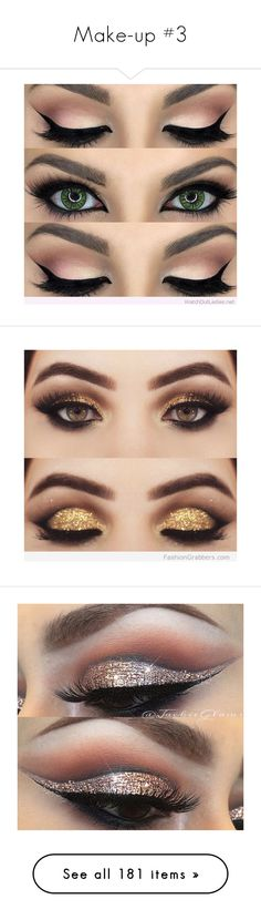 """""""Make-up #3"""" by moony-rose ❤ liked on Polyvore featuring beauty products, makeup, eye makeup, eyes, beauty, make, lip makeup, lipstick, eyeshadow and avon"""